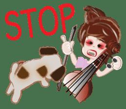 My Little Cello sticker #13651613