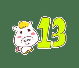Very useful stickers[Umako chan Ver.] sticker #13652294