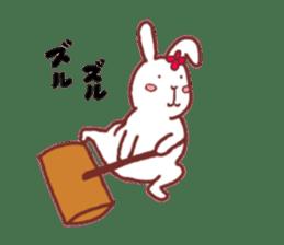 life of a delicate rabbit sticker #13652977