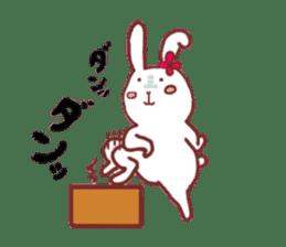life of a delicate rabbit sticker #13652978