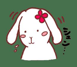 life of a delicate rabbit sticker #13652983