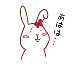 life of a delicate rabbit sticker #13652985