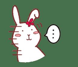 life of a delicate rabbit sticker #13652986