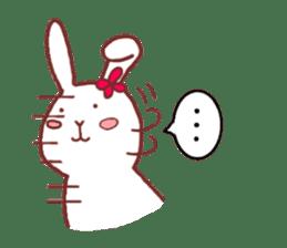 life of a delicate rabbit sticker #13652987