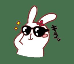 life of a delicate rabbit sticker #13652995