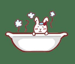 life of a delicate rabbit sticker #13652996