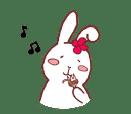life of a delicate rabbit sticker #13653002
