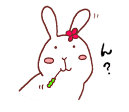 life of a delicate rabbit sticker #13653003