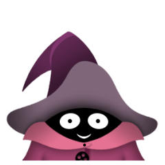 Cute Little Wizard stickers 2 (animated)