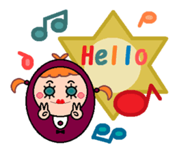 DOLLY DOLLY 1 (ENGLISH) sticker #13668708