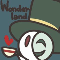 Tea party in Wonder land