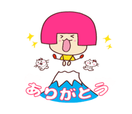 Happy family [a footloose young girl] sticker #13672222