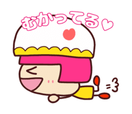 Happy family [a footloose young girl] sticker #13672229