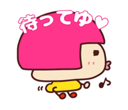 Happy family [a footloose young girl] sticker #13672233