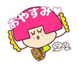 Happy family [a footloose young girl] sticker #13672243