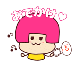 Happy family [a footloose young girl] sticker #13672245