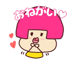 Happy family [a footloose young girl] sticker #13672251