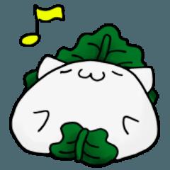 和菓子の猫