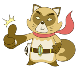 Tanuki Hachiemon the phantom thief 2 sticker #13674894