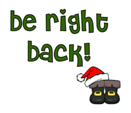 Cute Santa Bear stickers sticker #13675103