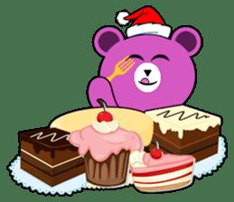 Cute Santa Bear stickers sticker #13675111