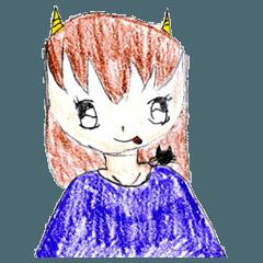 Demon daughter