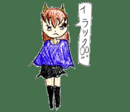 Demon daughter sticker #13675797