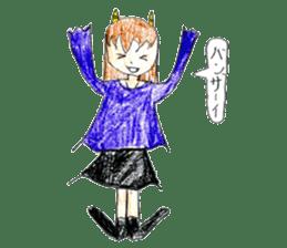 Demon daughter sticker #13675803