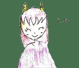 Demon daughter sticker #13675813