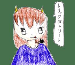 Demon daughter sticker #13675819