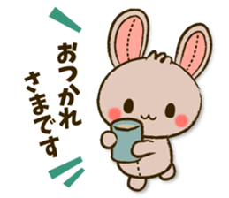 Stitch Usagi sticker #13681303