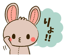 Stitch Usagi sticker #13681304