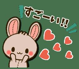 Stitch Usagi sticker #13681305
