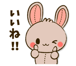 Stitch Usagi sticker #13681307