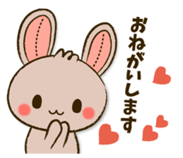 Stitch Usagi sticker #13681312