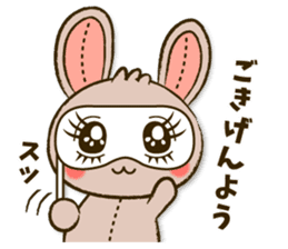 Stitch Usagi sticker #13681314