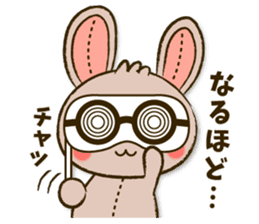 Stitch Usagi sticker #13681316
