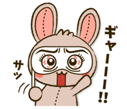Stitch Usagi sticker #13681317
