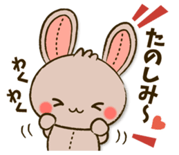 Stitch Usagi sticker #13681318
