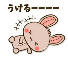 Stitch Usagi sticker #13681321