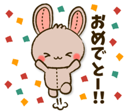 Stitch Usagi sticker #13681324
