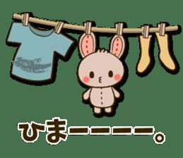 Stitch Usagi sticker #13681327