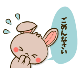 Stitch Usagi sticker #13681329