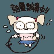 สติ๊กเกอร์ไลน์ Shih Tzu Dog Sticker