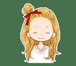 Girl's sticker 6 sticker #13691384