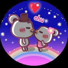 Moving!LOVE LOVE!!Chocolate bear