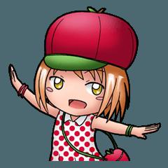 Kippi the Apple Maniac Girl