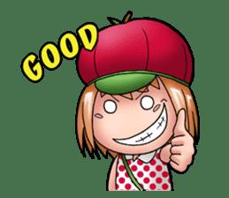 Kippi the Apple Maniac Girl sticker #13700723