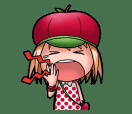 Kippi the Apple Maniac Girl sticker #13700735