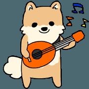สติ๊กเกอร์ไลน์ Indonesian Pomeranian Animation Vol02